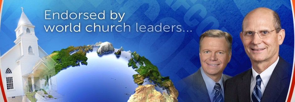 Endorsed by World Church Leaders