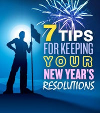 7 Tips for Keeping Your New Year's Resolutions