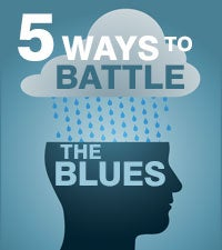 Five Ways to Battle the Blues