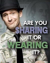 Are you sharing it or wearing it?