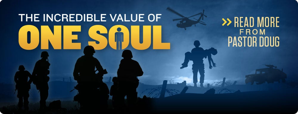 How much does God value one soul?