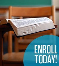 Free Online Bible School ... Enroll Today!