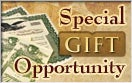 Special Gift Opportunity!