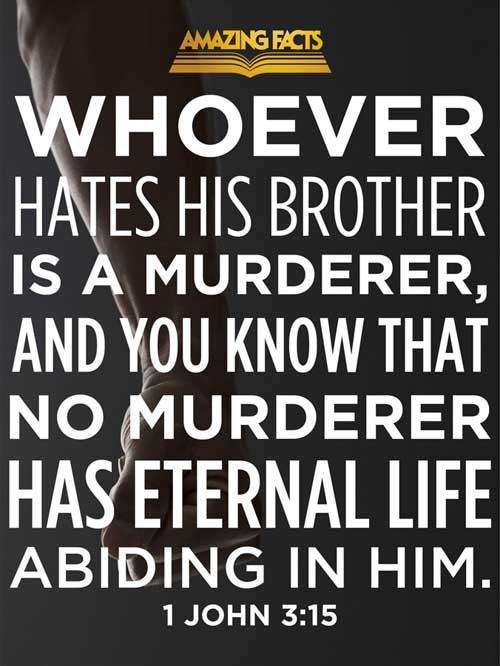 1 John 3:15