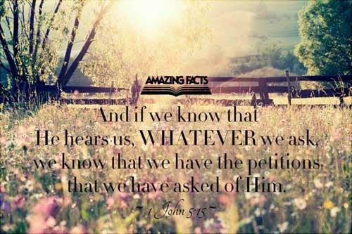 1 John 5:15