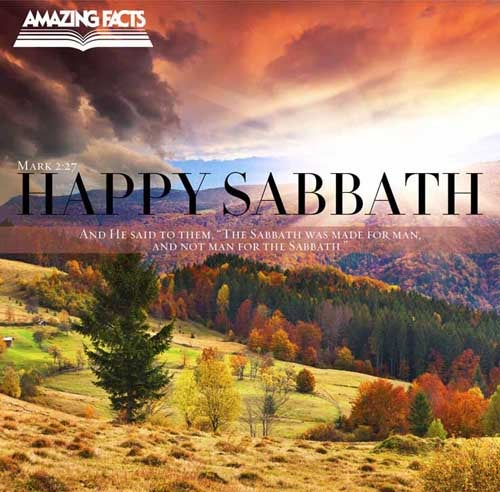And he said unto them, The sabbath was made for man, and not man for the sabbath: 