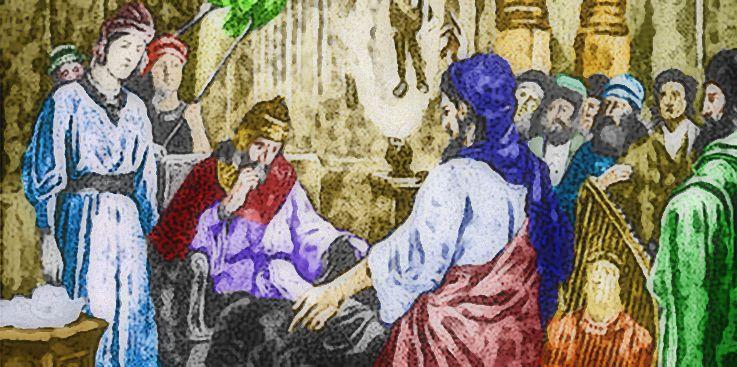 Daniel before King Nebuchadnezzar