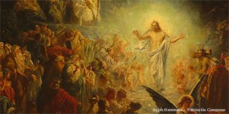 Where was Jesus for the three days between His death and resurrection?
