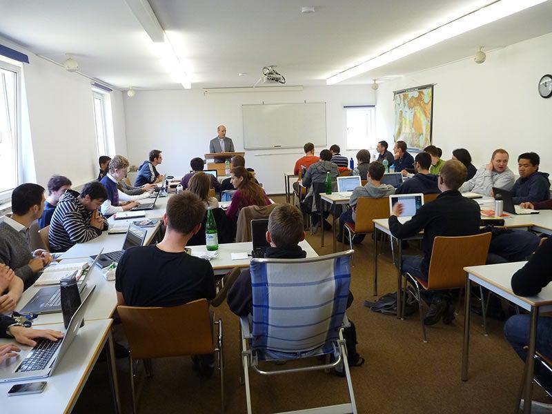 Teaching at Bogenhofen