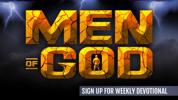 Sign-up for the Men Of God Weekly Steps to Christ Devotional