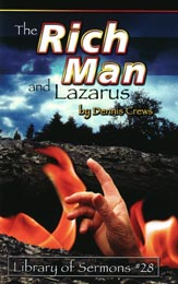 Explains the correct interpretation of the PARABLE of the rich man and Lazarus communicating after death.