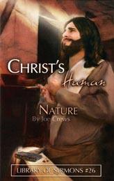 Natureza Humana de Cristo