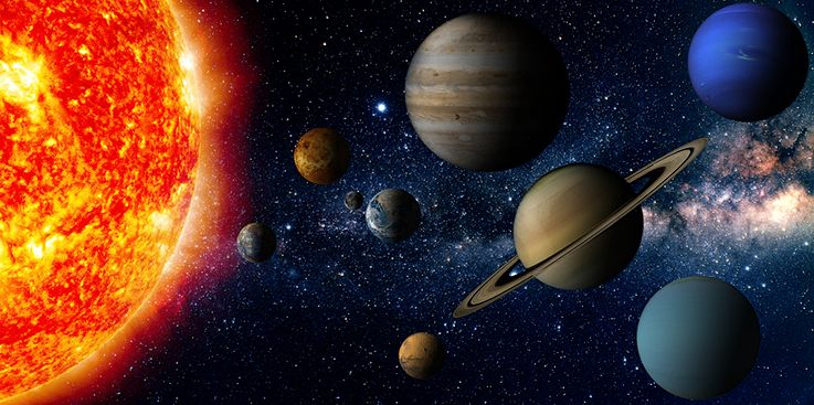 Did God create the entire solar system when He created the earth?