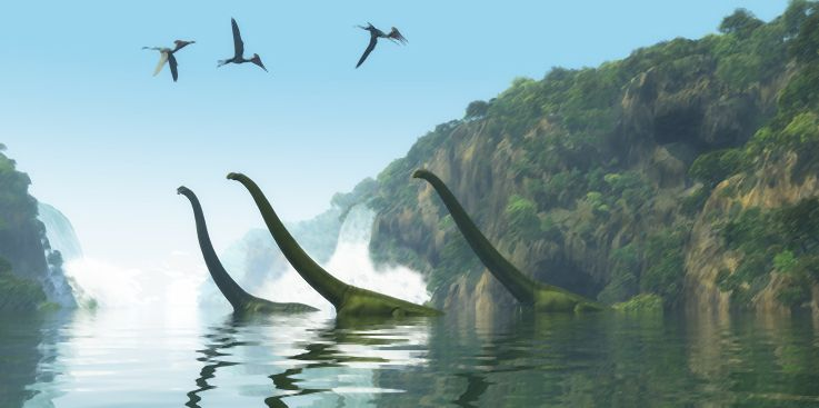 Where in the Bible are dinosaurs mentioned?