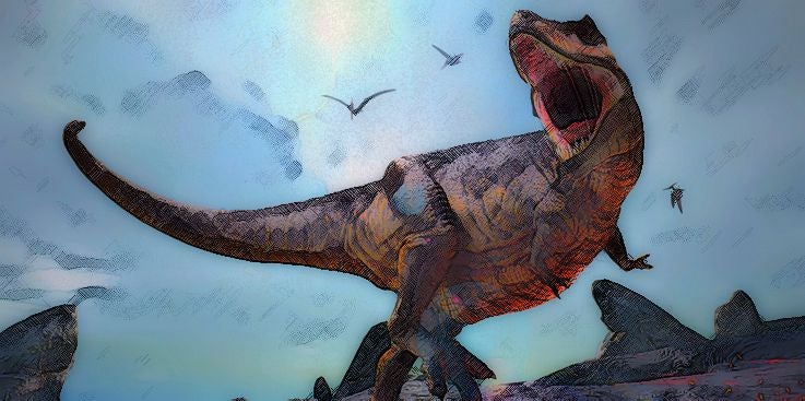 Are dinosaurs Satan's animals?