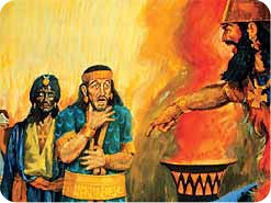 2. When the king's counselors failed to reveal and interpret the dream, what was Nebuchadnezzar's command?