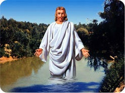 18. When Jesus was baptized, what did His Father say?