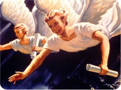 2. What are the three angels' messages of Revelation 14?