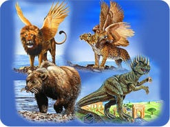 3. What does a beast represent in Bible prophecies?