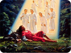 17. What did the ladder that Jacob saw in his dream represent?