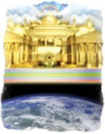 The holy city, along with all God's people, will descend to earth at the close of the 1,000 years.