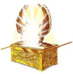 The mercy seat represents God's throne in heaven, which is also located between two angels.