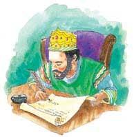 König Artaxerxes erlaubte den Wiederaufbau Jerusalems im Jahre 457 v.Chr.