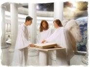 Guds heliga från alla tider kommer att sitta med i den andra delen av domen.
