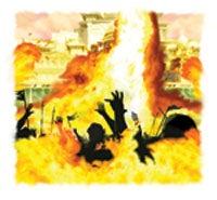 Eld från himlen kommer att för alltid utrota synd och syndare.