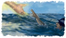 Are you drowning in sin? Jesus will rescue you at once if you will ask Him.