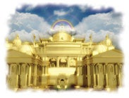 God is the architect and builder of the holy city.