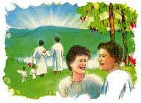 In heaven real people will experience real joys. The fondest hopes of the human heart will be realized.