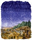 The great star shower took place on November 13, 1833.