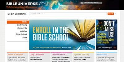 Visit BibleUniverse.com
