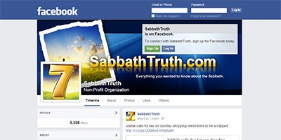 Visit SabbathTruth on Facebook