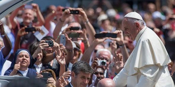 Update 3: The Pope Lands in America