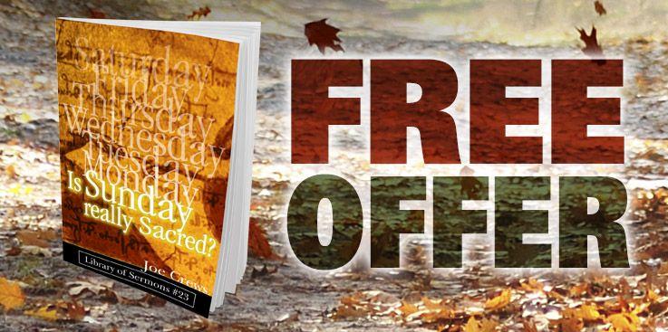 Request Free Book | Sabbath Truth