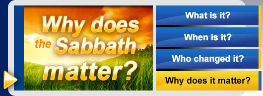 Why does the Sabbath matter?