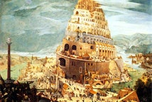 La Última Torre de Babel - Construction on the tower of babel - Abel Grimmer (1565–1630)