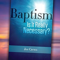 Baptism: Is it Really Necessary? - Paper or Digital Download
