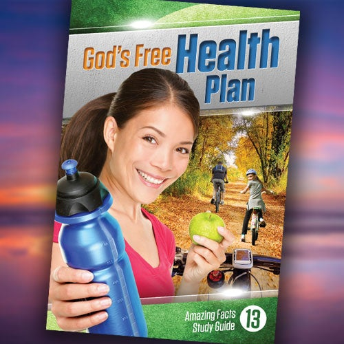 God's Free Health Plan - Paper or Digital Download
