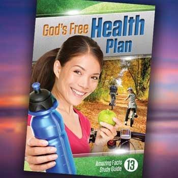 God's Free Health Plan - Paper or Digital Download