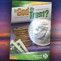 In God We Trust - Paper or Digital Download