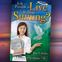Is It Possible to Live Without Sinning? - Paper or Digital Download
