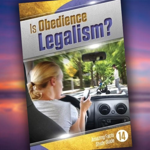 Is Obedience Legalism? - Paper or Digital Download