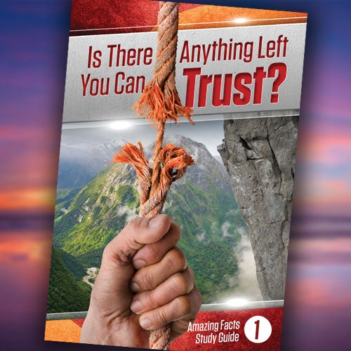 Is There Anything Left You Can Trust? - Paper or Digital Download