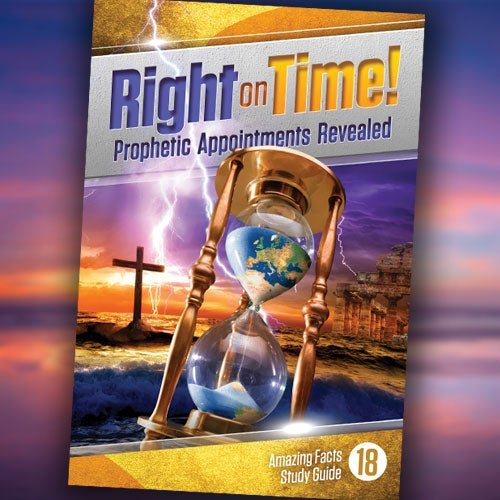 Right On Time! - Paper or Digital Download