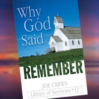 Why God Said Remember - Paper or Digital Download