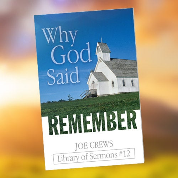 Why God Said Remember - Paper or Digital Download