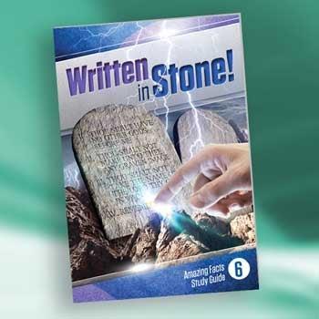 Written in Stone! - Paper or Digital Download